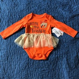 NWT Thanksgiving Tutu Onsie